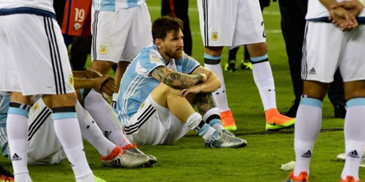Las siete finales consecutivas que ha perdido Argentina