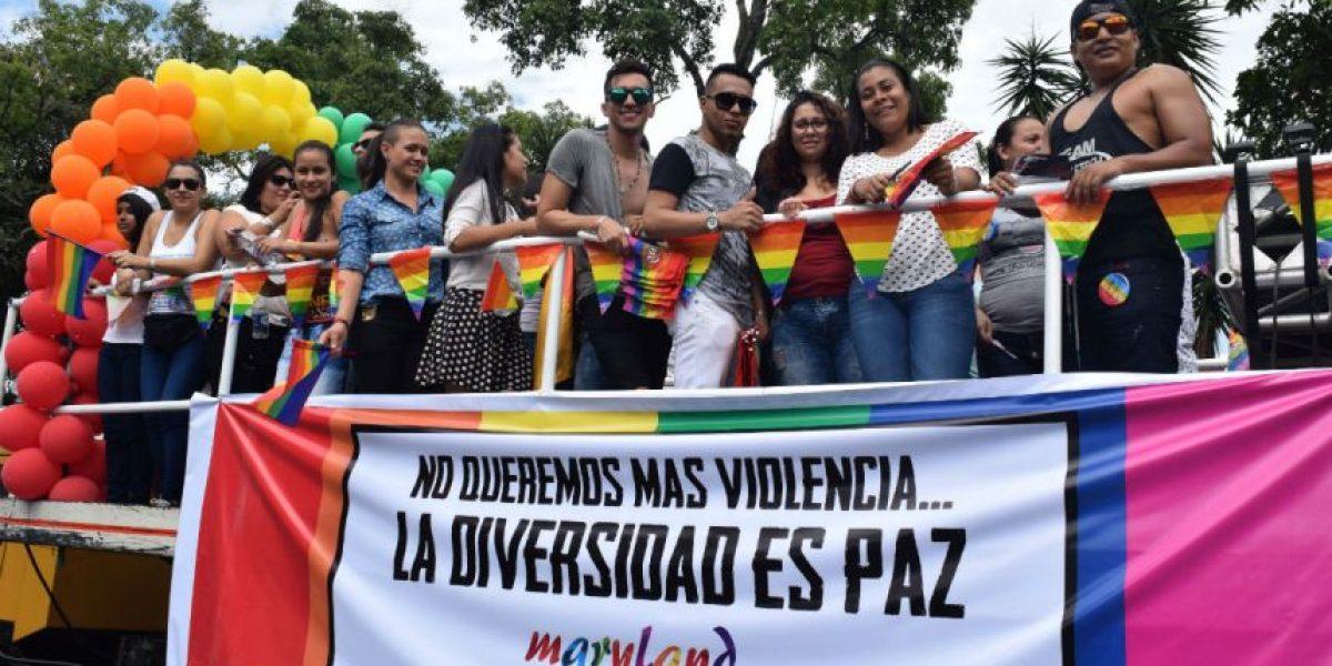 Así fue la marcha de la comunidad LGBT que se tomó Cali este domingo