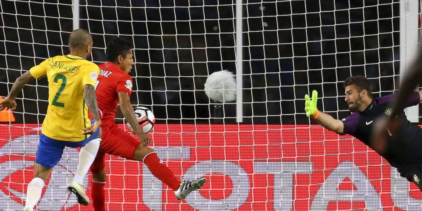 La mano de Raúl Ruidíaz fue el error más grave de los árbitros Foto:Getty Images