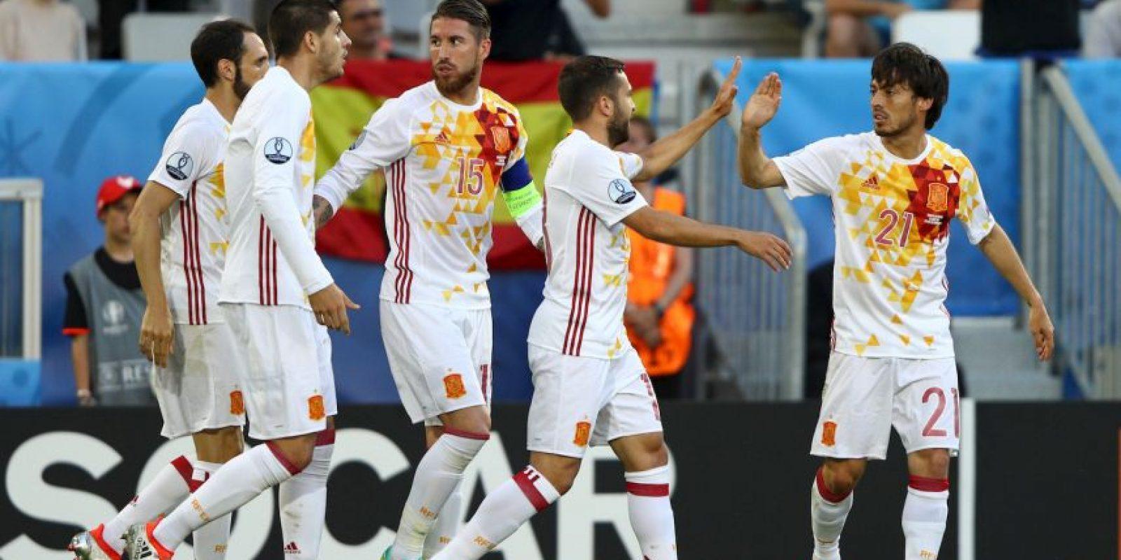 España no convenció y cayó ante Croacia en la última fecha de su zona, quedando relegado al segundo lugar Foto:Getty Images