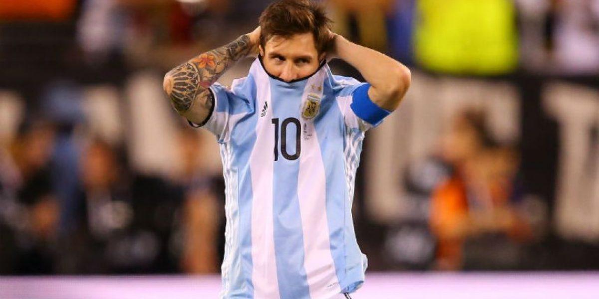 Las imágenes desconsoladoras de Lionel Messi en finales perdidas