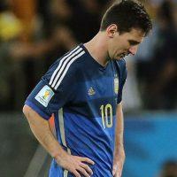 Cayó 1-0 con Alemania en la final del Mundial 2014 Foto:Getty Images