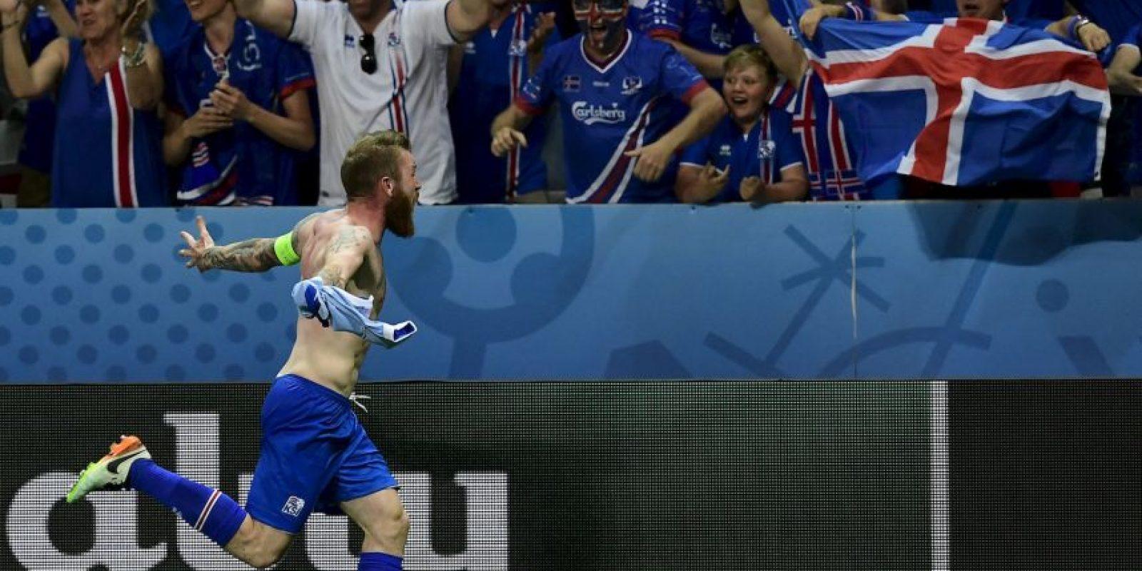 Islandia venció a Inglaterra en octavos de final de la Euro 2016 Foto:Getty Images
