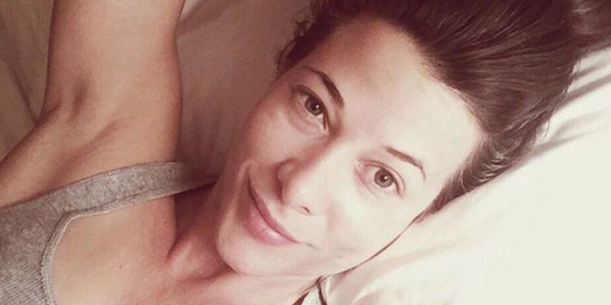Estefanía Borge muestra su figura en peculiar foto de Instagram