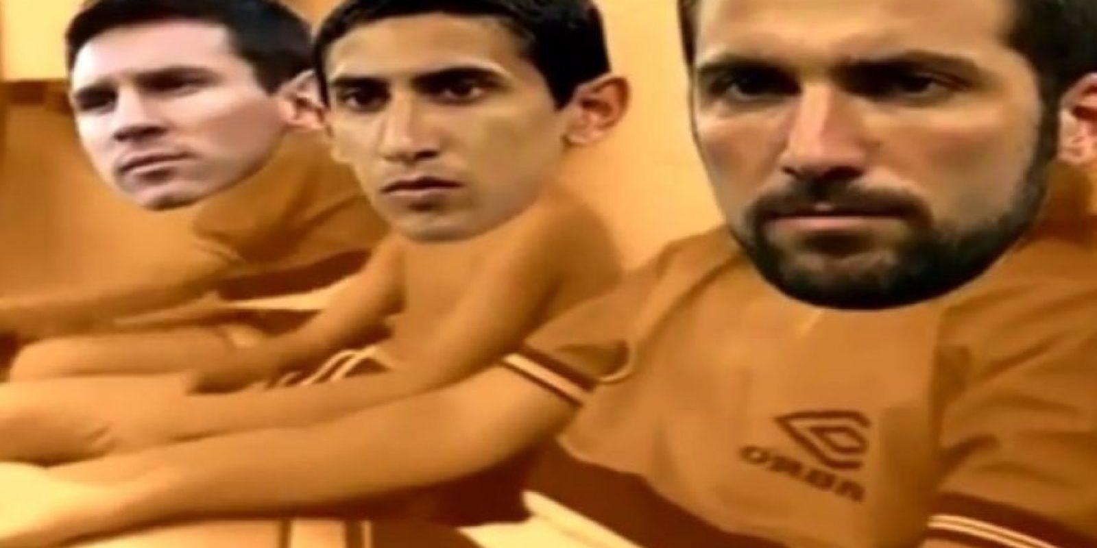 Por eso, los mismos argentinos ya se intentan tomar con humor su desgracia y crearon una parodia con la serie Cebollitas Foto:Captura de pantalla