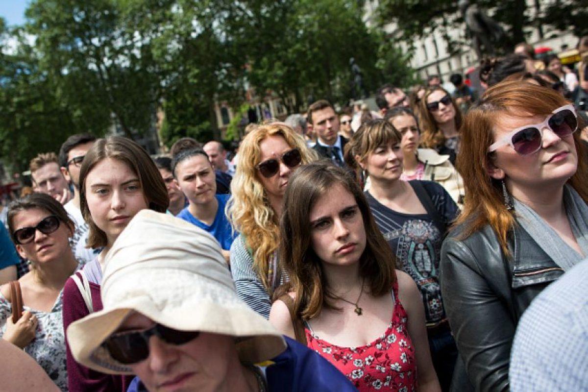 """Los """"Millenials"""" son el grupo más afectado por el Brexit, de acuerdo a analistas Foto:Getty Images"""