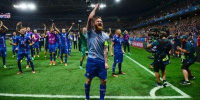 Islandia sorprendió a todos en la Eurocopa y eliminó a Inglaterra en octavos de final Foto:Getty Images