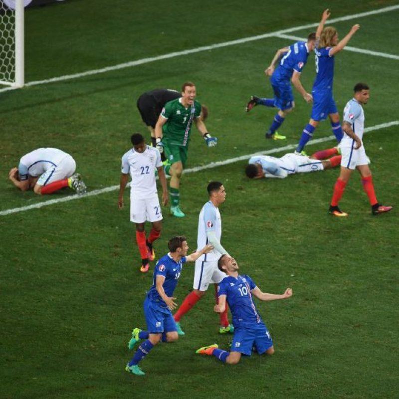 Lo de Islandia ya es histórico y ahora esperan seguir sorprendiendo en el duelo por cuartos ante el local, Francia Foto:Getty Images