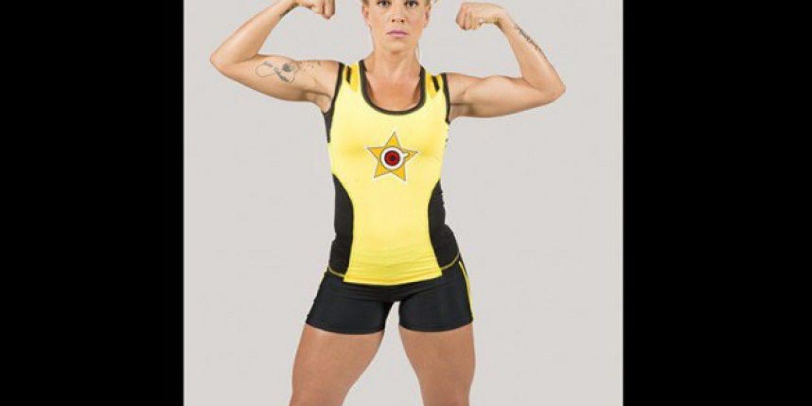 Gillola González. Es entrenadora personal, trabaja en actividad física y deporte con alumnos particulares a domicilio y asesorías online. Foto:Cortesía Prensa Caracol Televisión