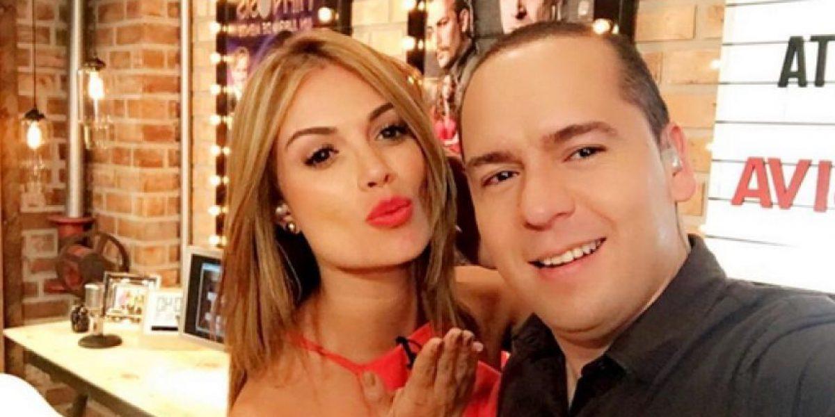 Sara Uribe y Daniel Calderón, nuevamente juntos