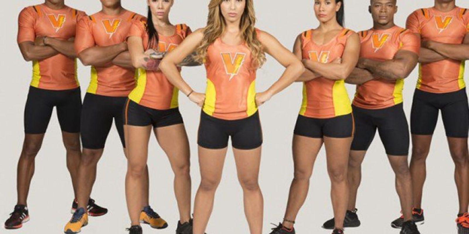 Equipo naranja: Vallecaucanos Foto:Cortesía Prensa Caracol Televisión