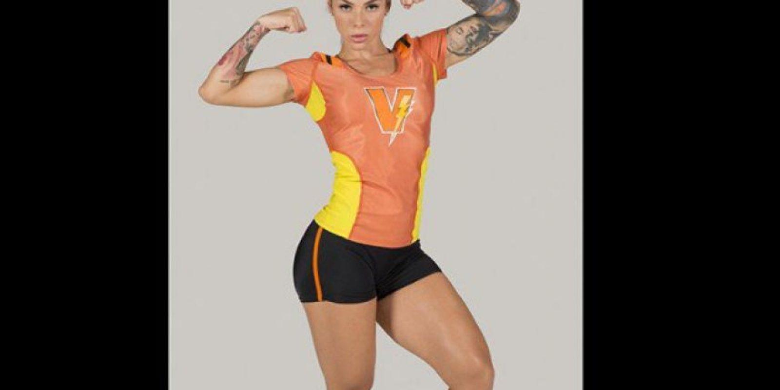 Angélik Hernández.. Nació en Cali, es modelo fitness y madre de tiempo completo. Foto:Cortesía Prensa Caracol Televisión