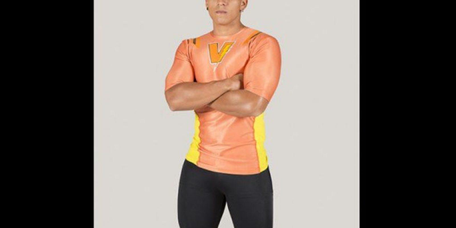 Gustavo Molina 'Makina'. Practica natación, ciclismo, boxeo y crossfit. Foto:Cortesía Prensa Caracol Televisión