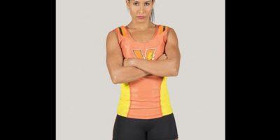 Marcela Peña Salas 'La Cheli'. Es fisioterapeuta de la Escuela Nacional del Deporte, con experiencia en coach de crossfit.En el 2014 fue la campeona nacional del Wodfest, en la categoría scaled y ocupó el puesto 72 en Latinoamérica. Foto:Cortesía Prensa Caracol Televisión