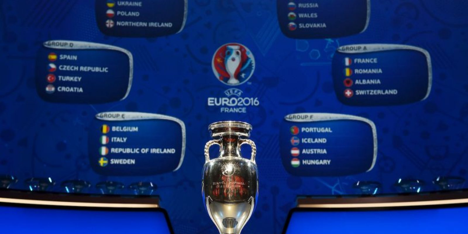 Portugal, Polonia, Gales, Bélgica, Alemania, Italia, Francia e Islandia Foto:Getty Images