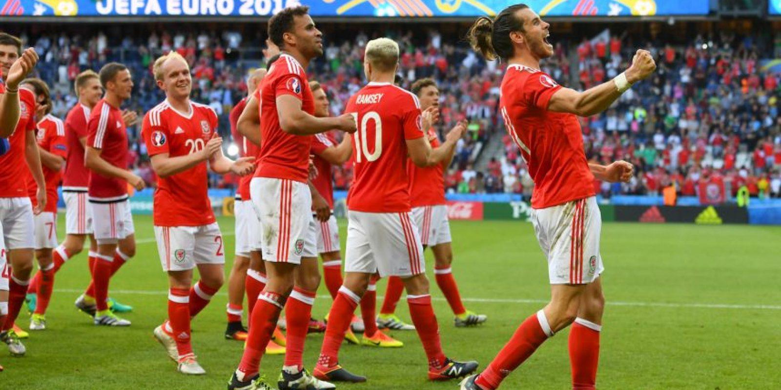 Gales ha demostrado su poderío en la Eurocopa y avanzó a octavos primero de su grupo, venciendo con sufrimiento a Irlanda del Norte para avanzar a cuartos Foto:Getty Images