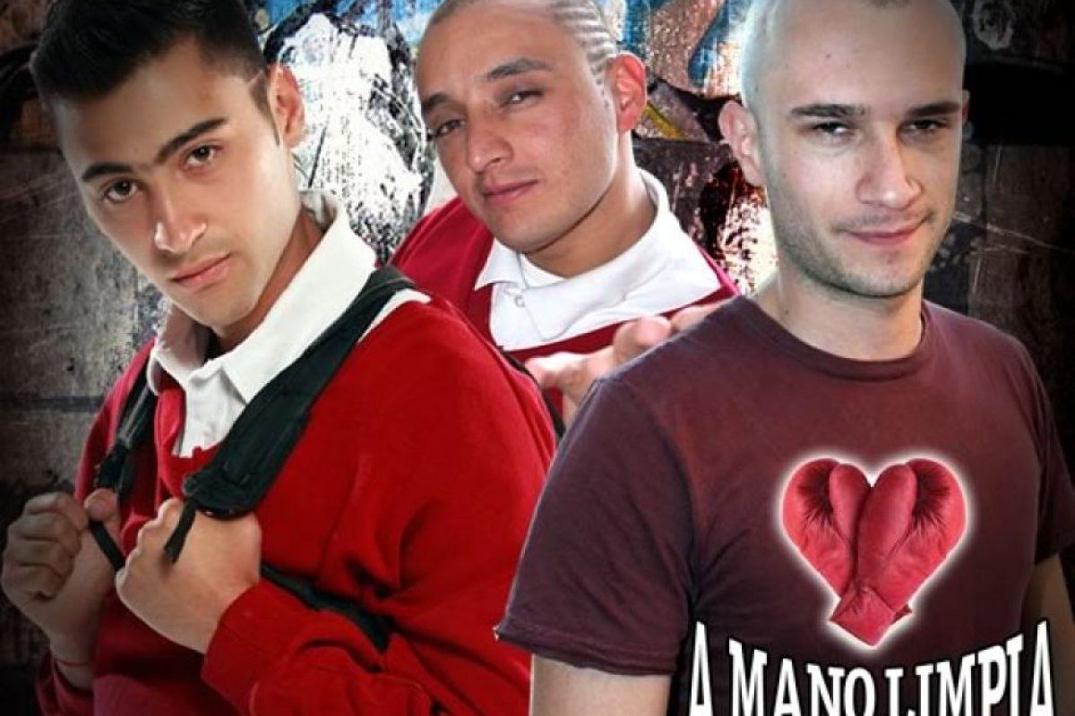 Juan Pablo Barragán le dio vida a 'Mario' (centro) en 'A Mano Limpia' del Canal RCN Foto:Tomada de Portal Prensa Canal RCN