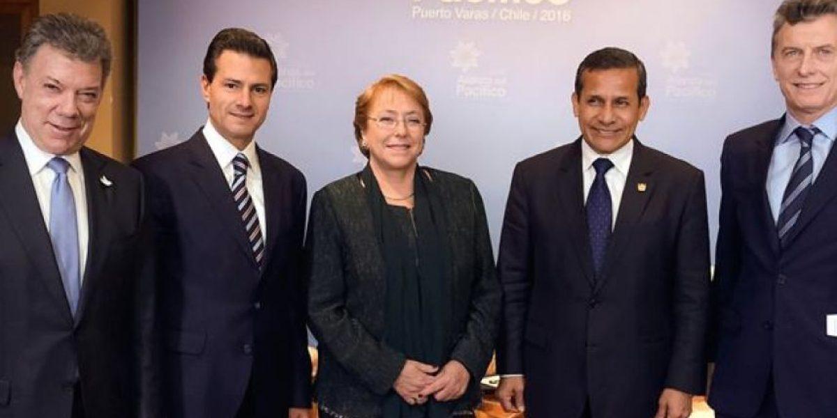 En la Alianza del Pacífico, Santos habló de la paz y los beneficios para el sector privado