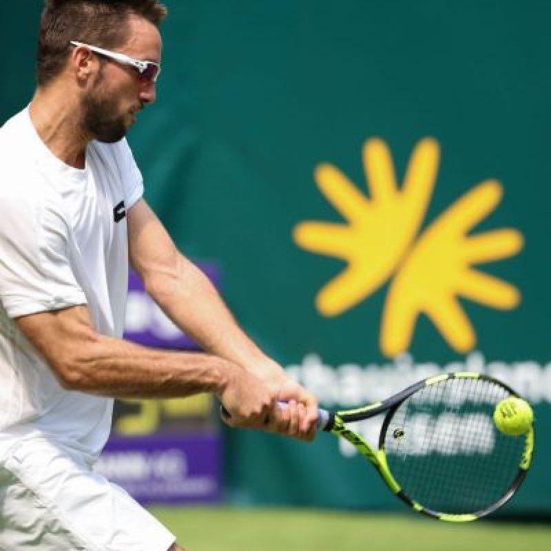 Viktor Troicki es un tenista serbio de 30 años Foto:Getty Images