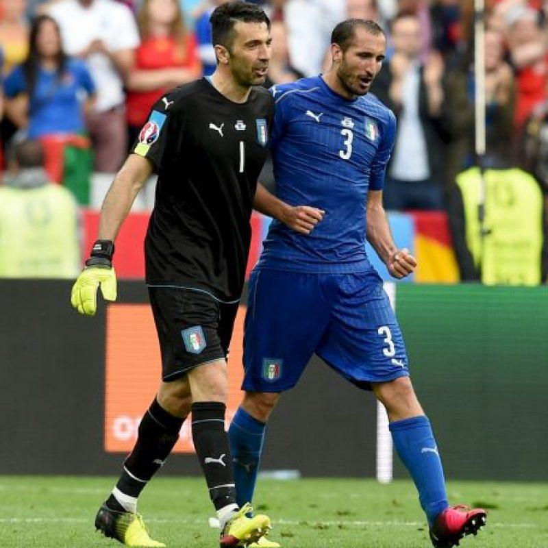 Pero Italia ha mostrado un gran nivel Foto:Getty Images