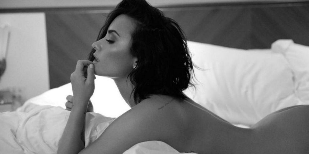 Demi Lovato se desnuda para promocionar su nueva canción