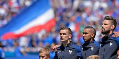 Francia vs. Islandia, en cuartos de final de la Euro 2016 Foto:Getty Images