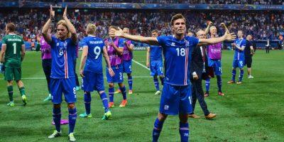 O lel sorpresivo Islandia Foto:Getty Images