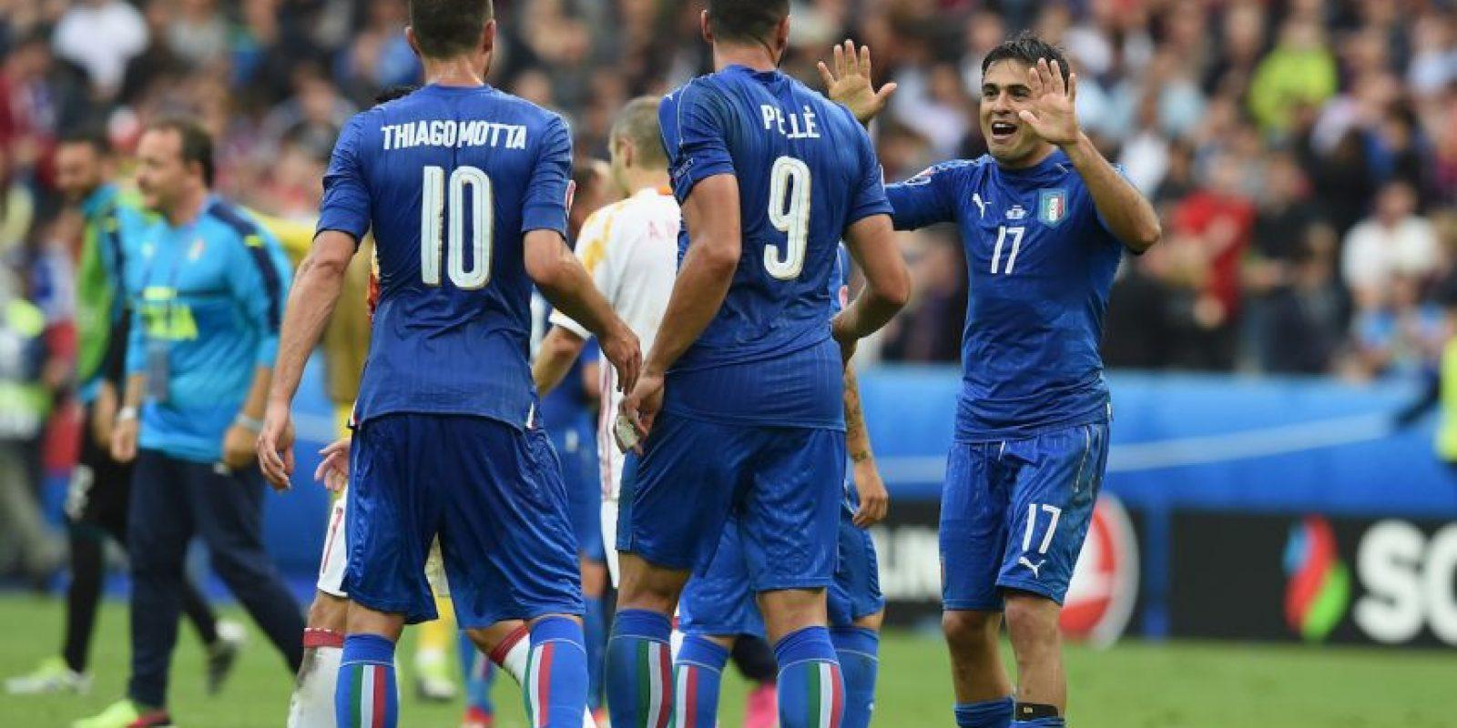 Los italianos vienen de vencer a España para clasificar a semifinales y han demostrado todas sus credenciales para ser campeones Foto:Getty Images