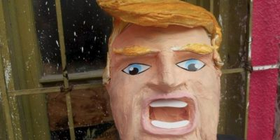 Así luce la piñata de Donald Trump Foto:Vía Facebook/Piñatería Ramírez