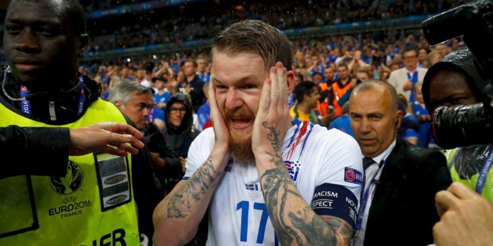 Así se despidió islandia de la Euro 2016 Foto:Getty Images