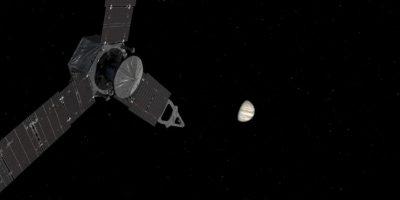 El contacto con la Tierra tarda más de 40 minutos Foto:NASA