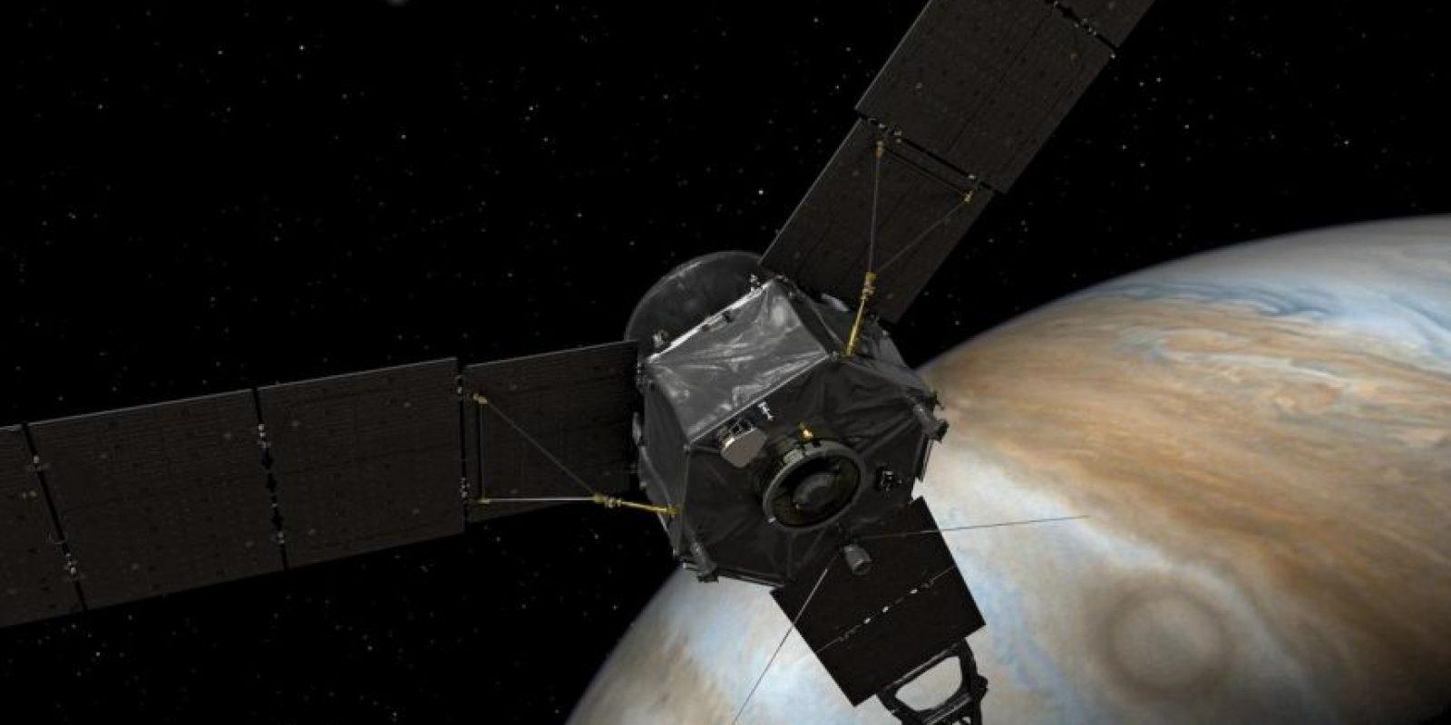 Es impulsada por energía solar Foto:NASA