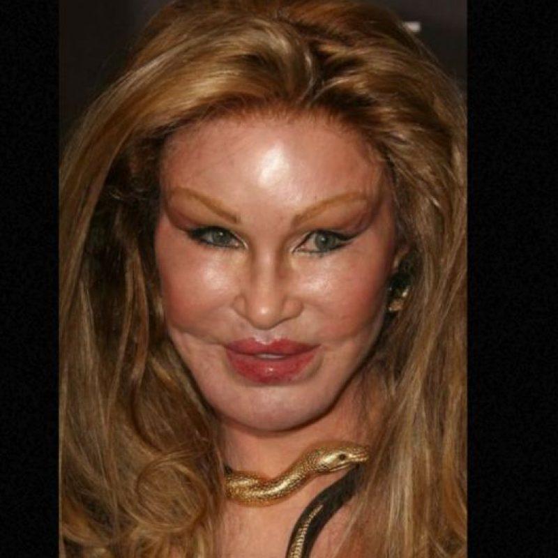 """Jocelyn Wildenstein se convirtió en """"La Mujer Gato"""" para recuperar a su marido. No lo hizo. Foto:vía Getty Images"""