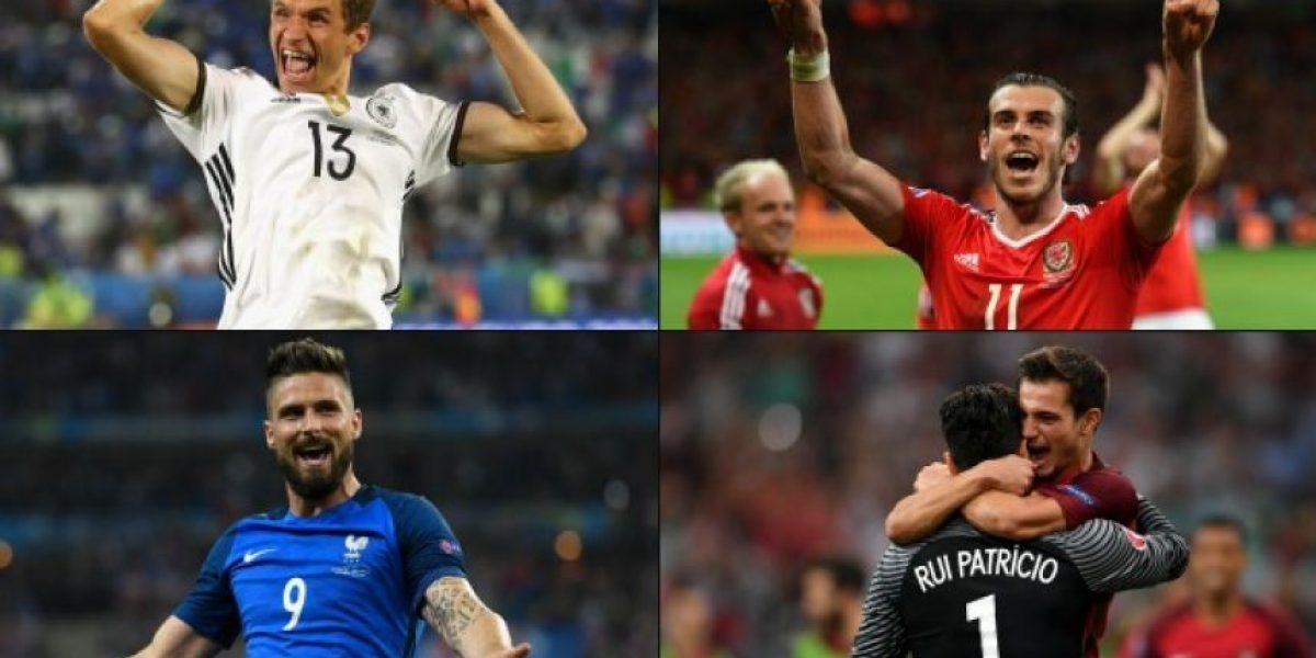 ¿Cómo llegan los cuatro clasificados a las semifinales de la Eurocopa?