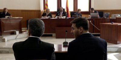Lionel Messi ha tenido un mes para el olvido Foto:AFP