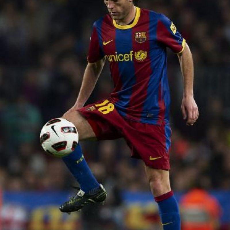Caso parecido es el de Gabriel Milito, actual entrenador de Independiente, tiene una deuda de 1,83 a las arcas españolas de su época como jugador de Barcelona y Zaragoza Foto:Getty Images