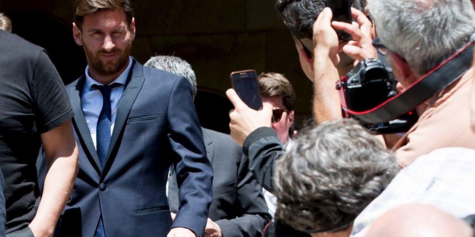 Sus problemas comenzaron el 2 de julio, cuando tuvo que declarar por evasión de impuestos Foto:Getty Images