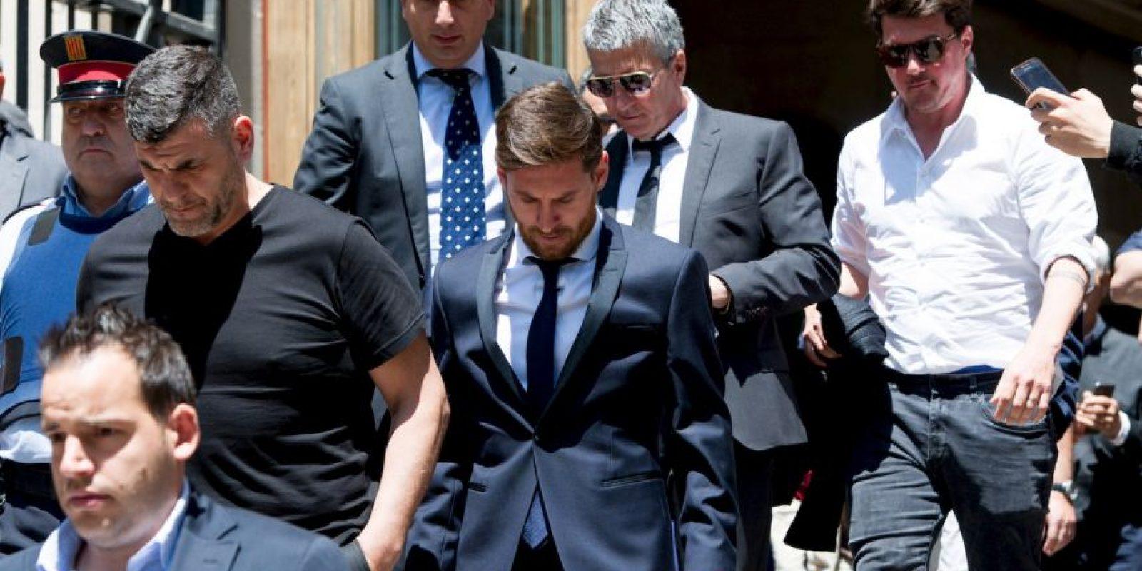 La evasión de impuestos lo obligó a ir a juicio y retrasar su llegada a Estados Unidos para la preparación de Argentina de cara a la Copa América Centenario Foto:Getty Images