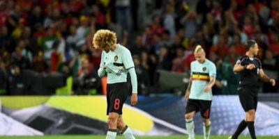 Marouane Fellaini es un futbolista belga de 28 años Foto:Getty Images