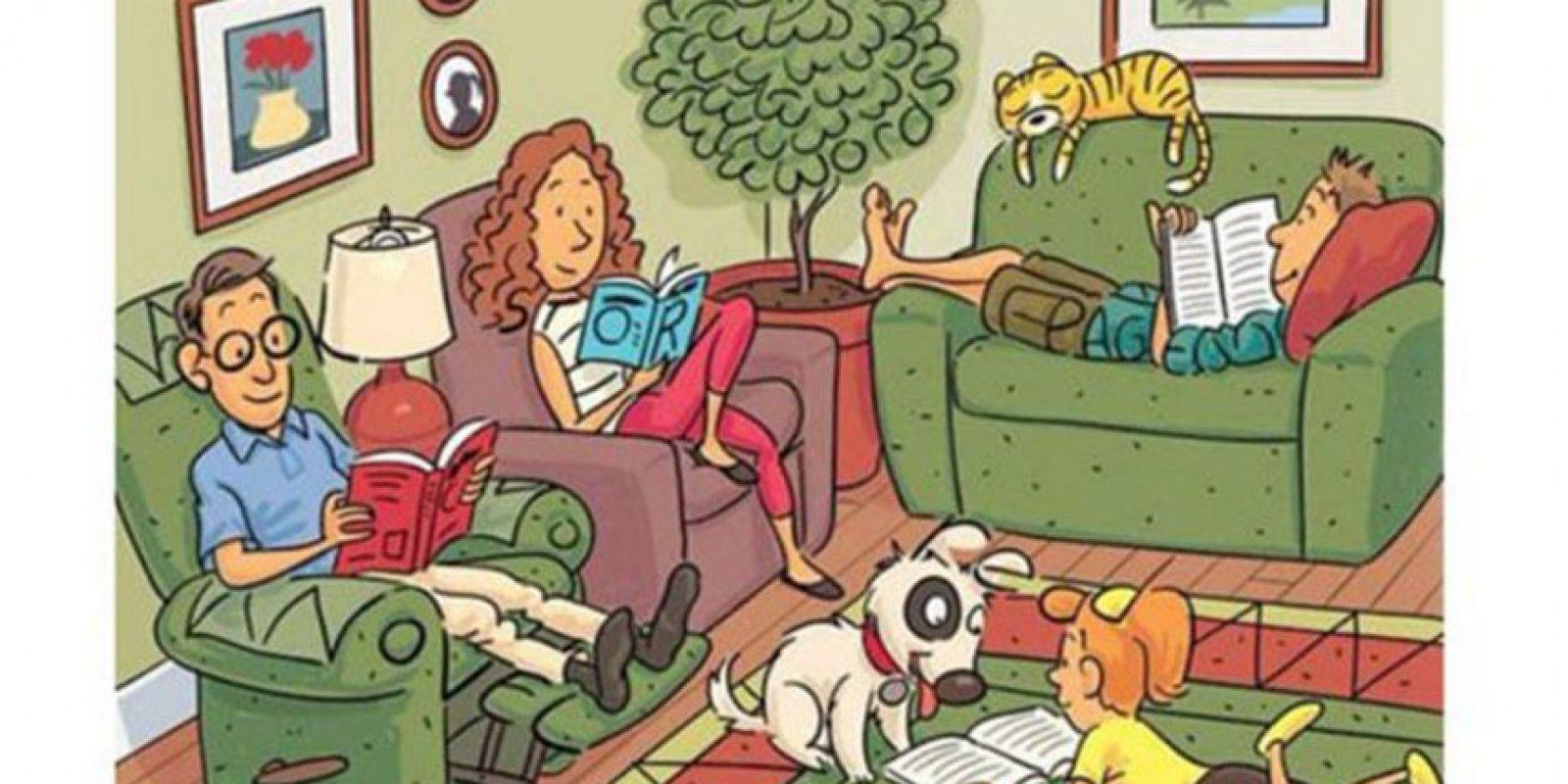 En esta imagen hay seis palabras en inglés que deben encontrar. Foto:Highlightskids.com