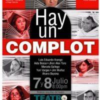 La obra 'Hay un Complot' en el Teatro de la Universidad de Medellín. Foto:Tomada de Facebook Hayuncomplot