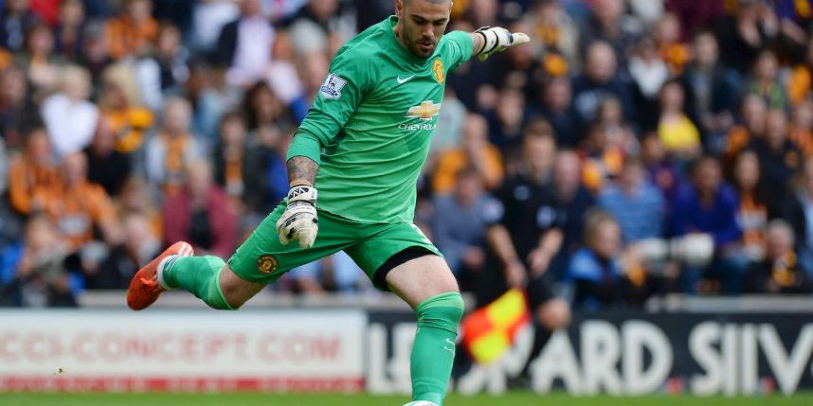 Luego de un paso para el olvido en Manchester United, el portero español encontró nuevo club Foto:Getty Images