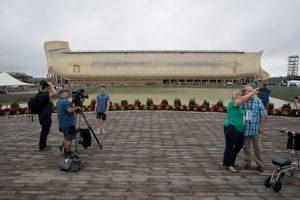Sus constructores aseguran que son las medidas descritas en el Antiguo Testamento de la Biblia Foto:Getty Images