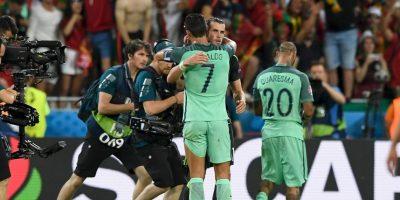 Cristiano Ronaldo le dijo que eran los grandes ganadores Foto:Getty Images
