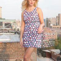 La modelo Erin Heatherton. Foto:vía Getty Images