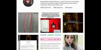 ¿Siguen alguna cuenta de redes sociales o participan en algún grupo de lectura? Foto:Reproducción Instagram