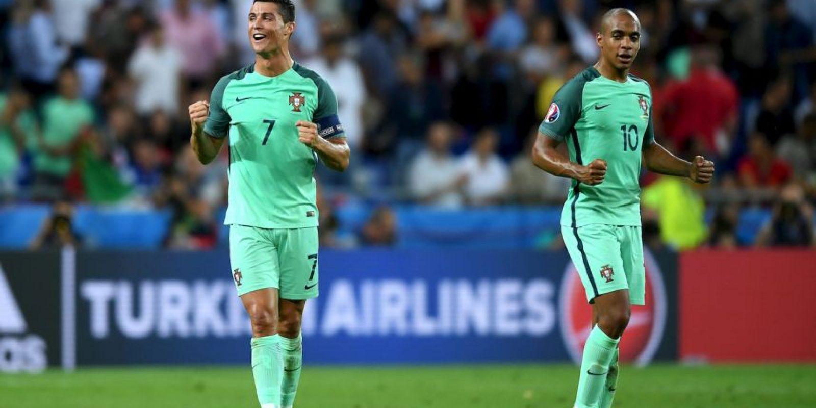 Pero Cristiano es el máximo goleador histórico de la Eurocopa Foto:Getty Images