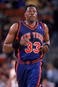Patrick Ewing. Después de 13 campañas con los Knicks, se despidió en 2002 con Orlando Magic Foto:Getty Images