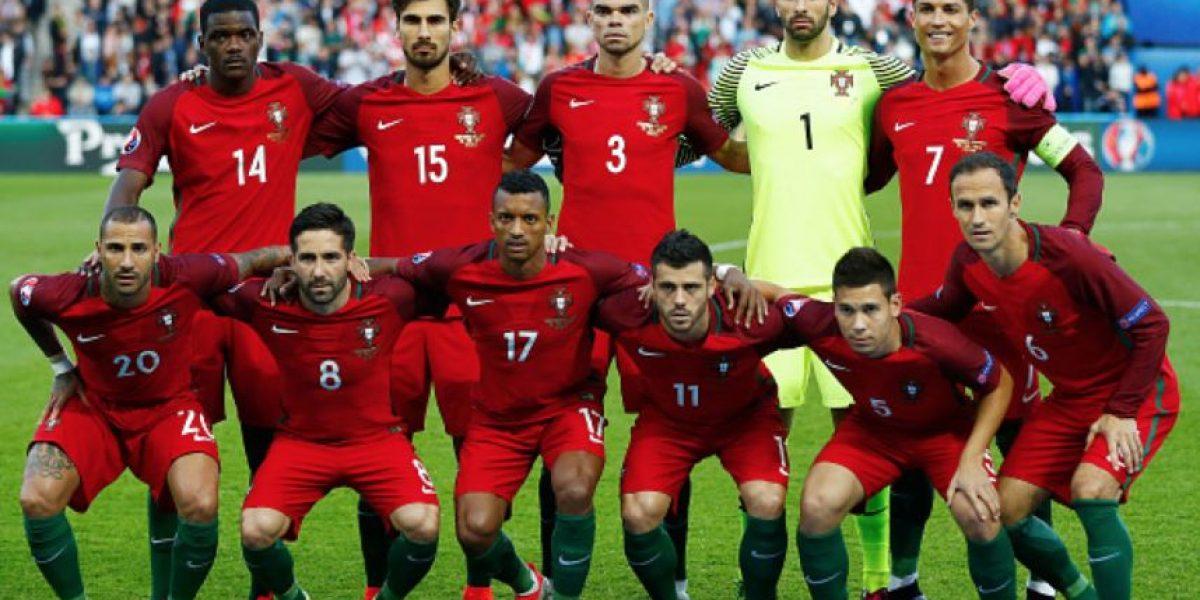 El portero de Portugal arruinó la mejor pose de Cristiano Ronaldo
