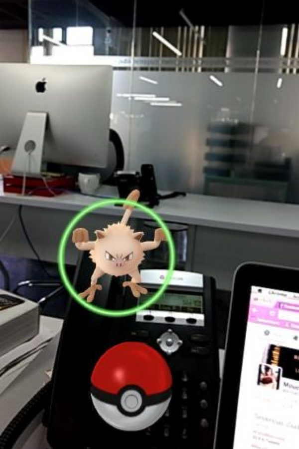 Está basado en realidad virtual. Foto:Pokémon Go